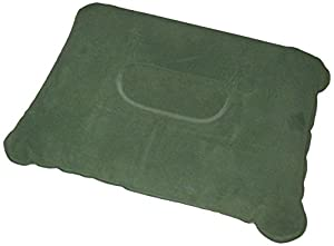 Zaltana Inflatable Camping Pillow, Green