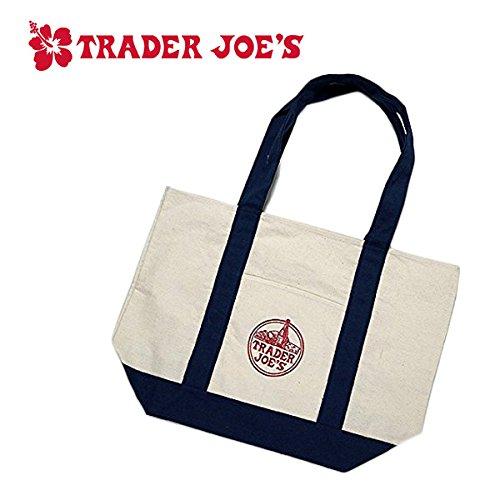 【トレーダージョーズ】Trader Joe's キャンバストートバッグ【並行輸入品】