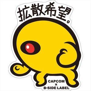CAPCOM×B-SIDE LABELステッカーVol.2 ロックマン イエローデビル
