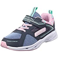 SYUNSOKU Girl's Running Shoes: Flat Outsole  Shockproof & Lightweight with Bounce Capacity - Storm Max Kid's Shoes