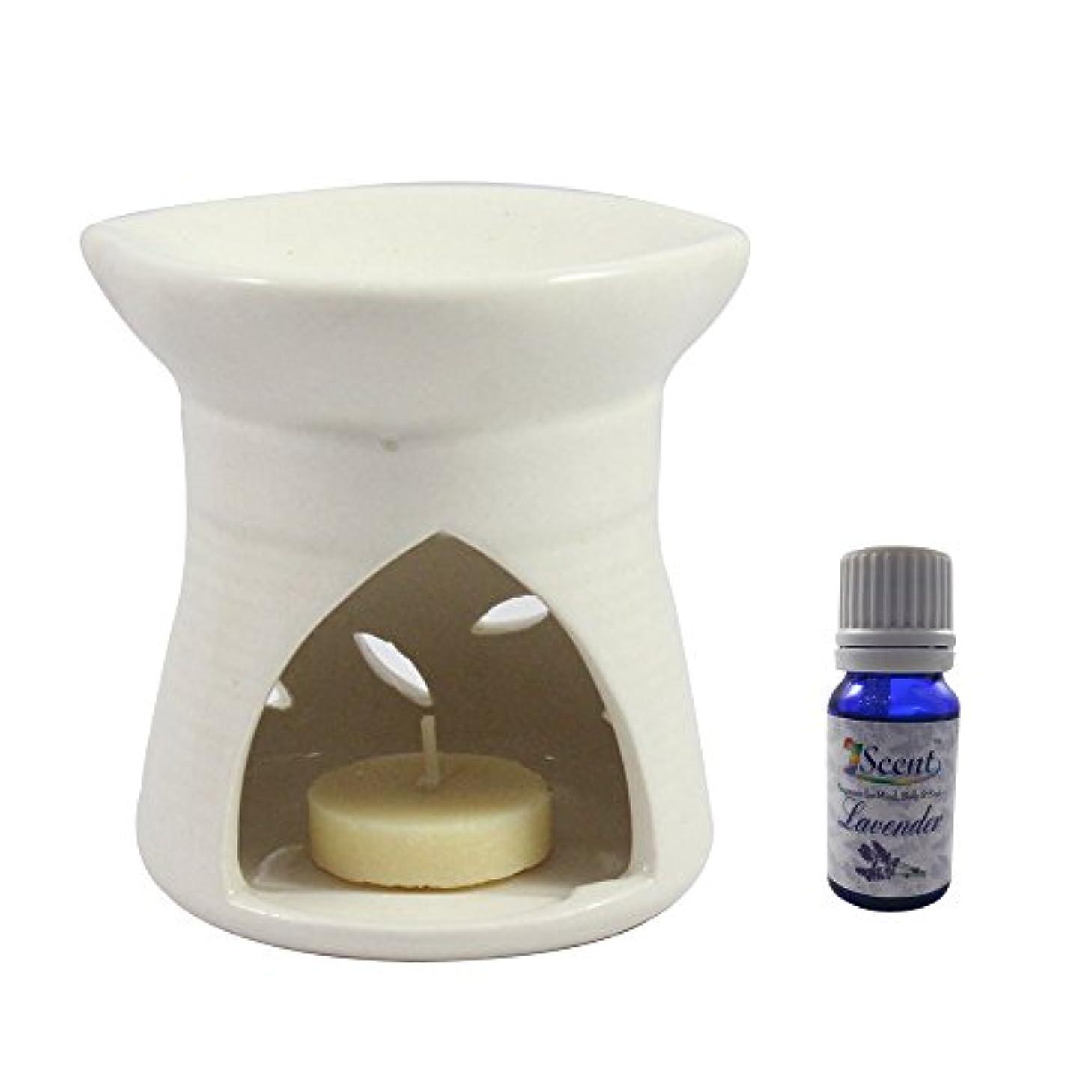 負弾薬ホームホームデコレーション定期的に使用する汚染のない手作りセラミックエスニックティーライトキャンドルアロマディフューザーオイルバーナーサンダルウッドフレグランスオイル|ホワイトティーライトキャンドルアロマテラピー香油暖かい数量1