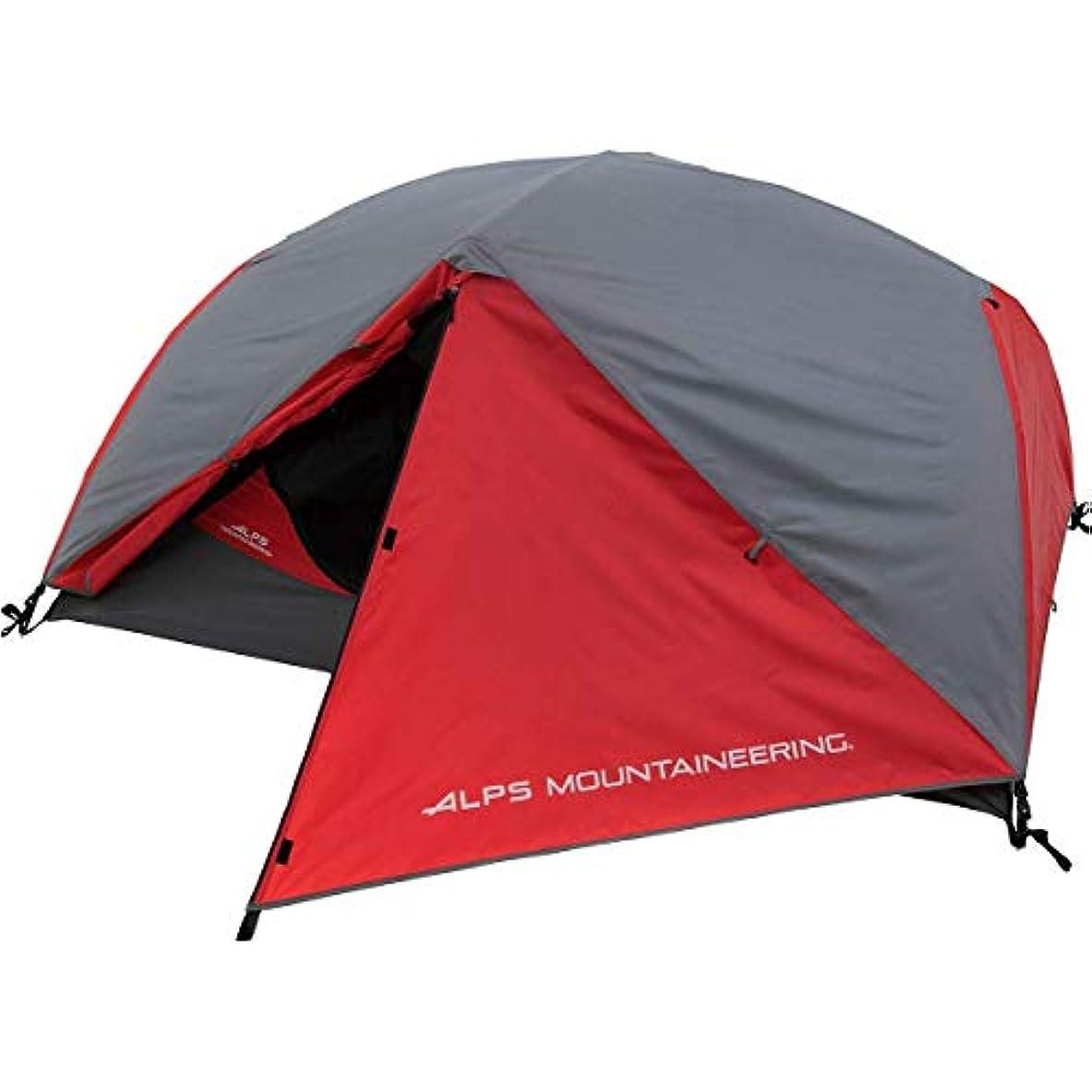 故障バルーン倍増ALPS Mountaineering Chaos 2 Tent 2-Person 3-Season Red/Grey, One Size [並行輸入品]