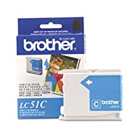 Brother Cyan Inkjet Cartridge For MFC-240C Multi-Function Printer - Inkjet - 400 Page - Cyan by Brother