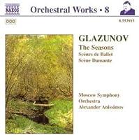 Glazunov: Seasons Op67; Scenes de ballet, suite for orchestra Op52 (1998-03-27)