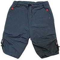 4a2c1e0c62b817 (ファミリア) familiar ドローストリング 付 オーバー パンツ 濃グレー 男の子 60cm キッズ 子供