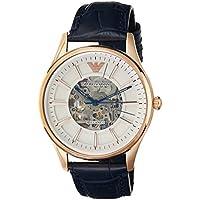 Emporio Armani Men's AR1947 Analog Automatic Blue Watch