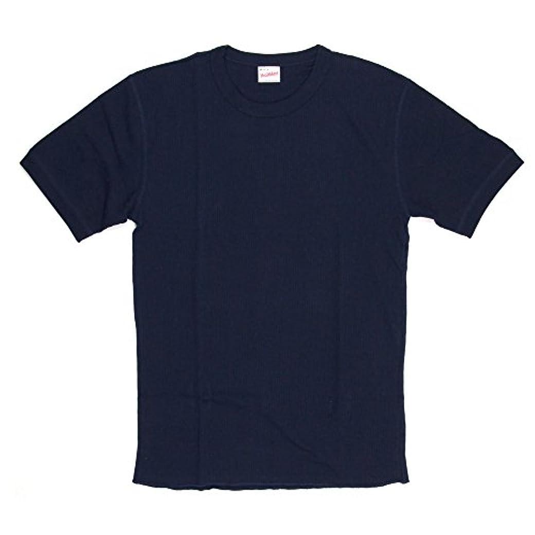 木製ホバー士気(ヘルスニット) Healthknit ショートスリーブ サーマル クルーネック Tシャツ カットソー パックT HK602S