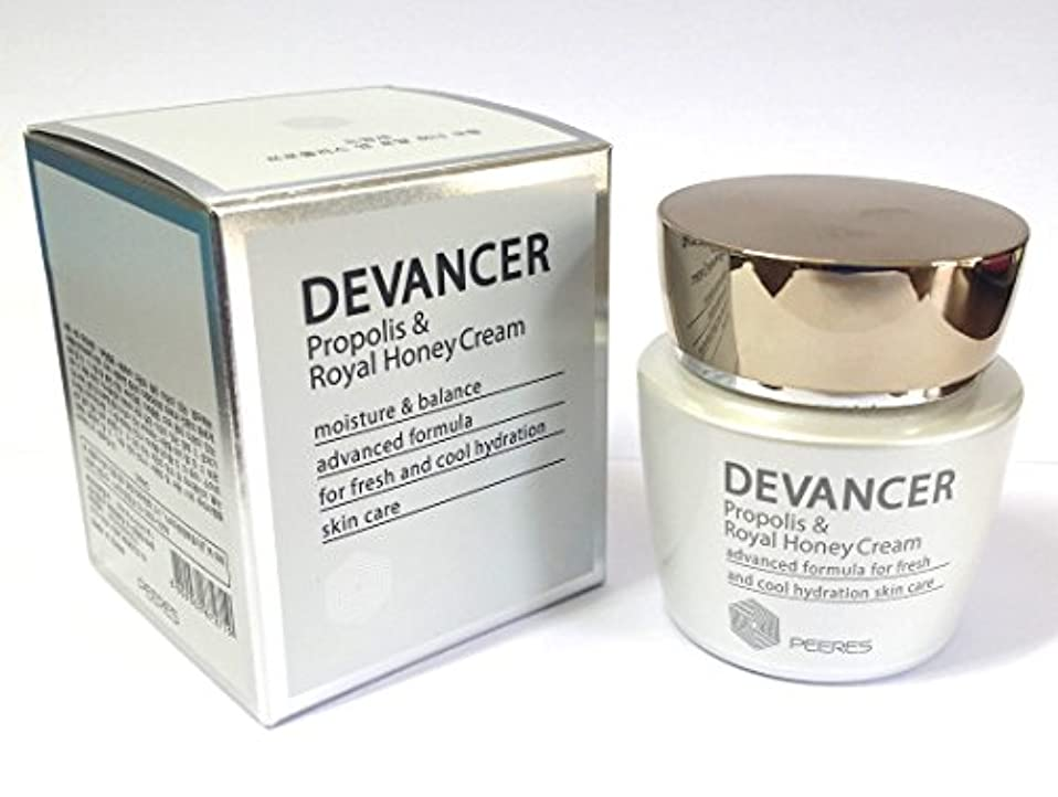 印をつける精通した部門[DEVANCER] プロポリス&ロイヤルハニークリーム62ml / ホワイトニング&うるおい&弾力性 / 韓国化粧品 / Propolis & Royal Honey Cream 62ml / whitening &...
