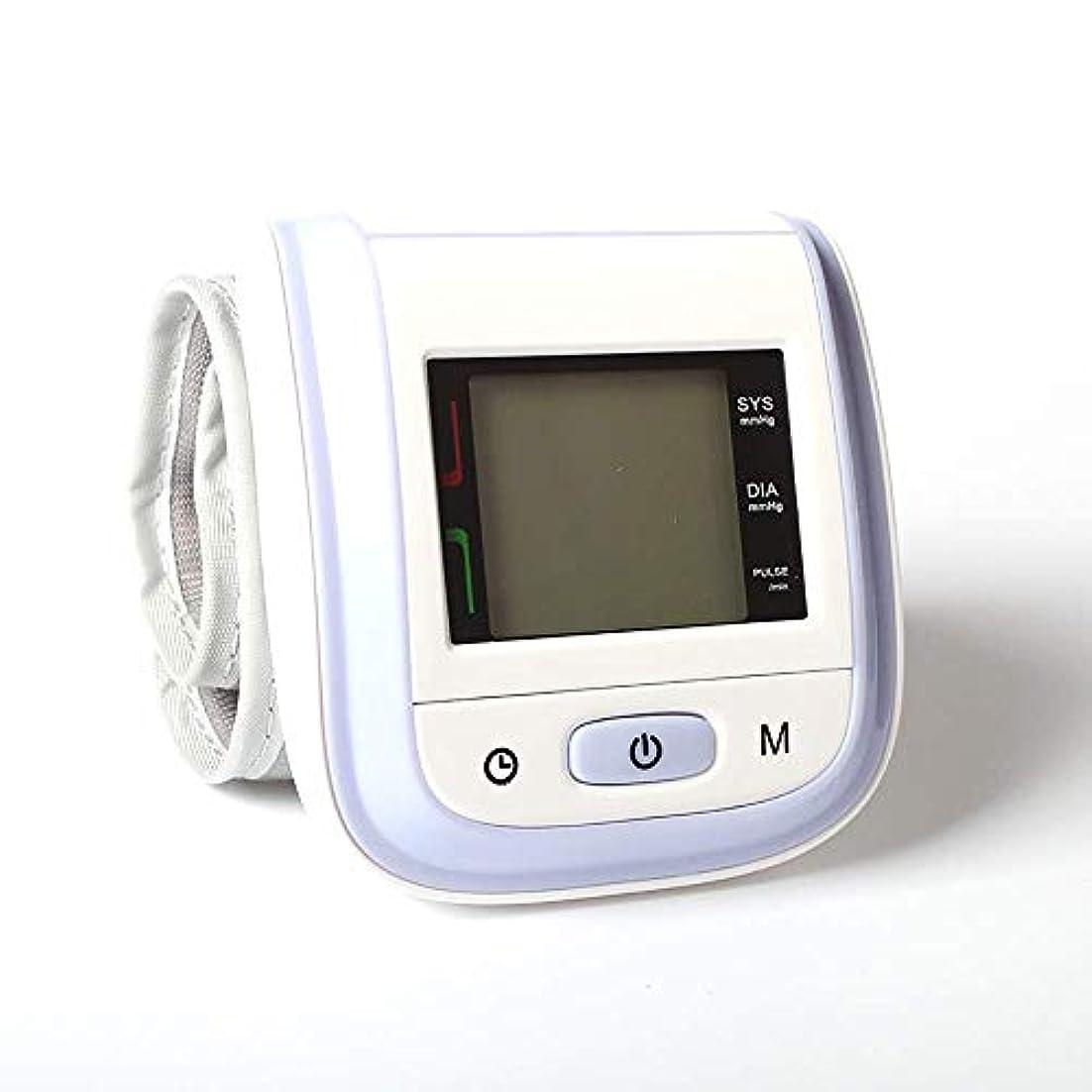 雄弁家なしでコンピューターを使用する手首血圧計ポータブル自動デジタル上腕血圧計と2ユーザーモードFDAが家庭での使用を承認