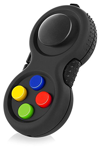 CrazyFire ストレス解消パッド Fidget Pad ハンドル ポケットゲーム ストラップ 不安 緊張 EDC ADHD 脳トレ