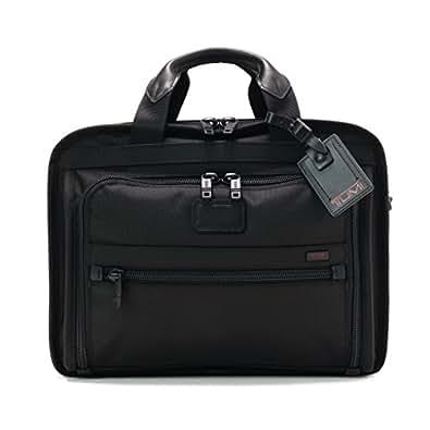 (トゥミ)TUMI 26132/026132DH Alpha Ballistic Business Organizer Brief/オーガナイザー ブリーフ /ブリーフケース Black/ブラック [並行輸入品]