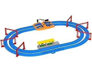 プラレール 駅とつながる 複線レールセット