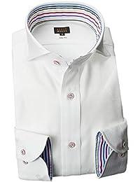 RSD176-001 (スタイルワークス) メンズ長袖ワイシャツ カッタウェイ ワイドカラー | 白