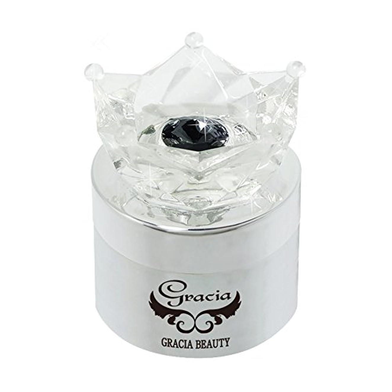 郵便屋さん何よりも回復グラシア ジェルネイル コフレットジェル GJ-145G 5g ホワイト グリッター UV/LED対応 カラージェル ソークオフジェル