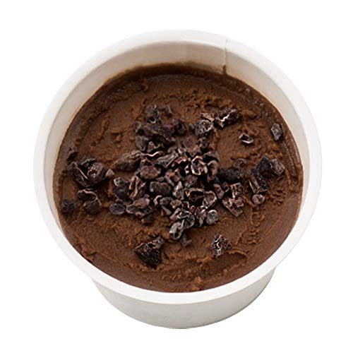 K and Son's 植物性100%オーガニック豆乳アイスクリーム 80ml Premium 6カップセット (ショコラ&カカオニブ)