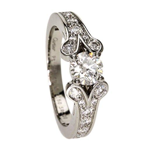 CARTIER(カルティエ) 5.8g バレリーナ ダイヤモンド リング・指輪 プラチナPT950 レディース (中古)