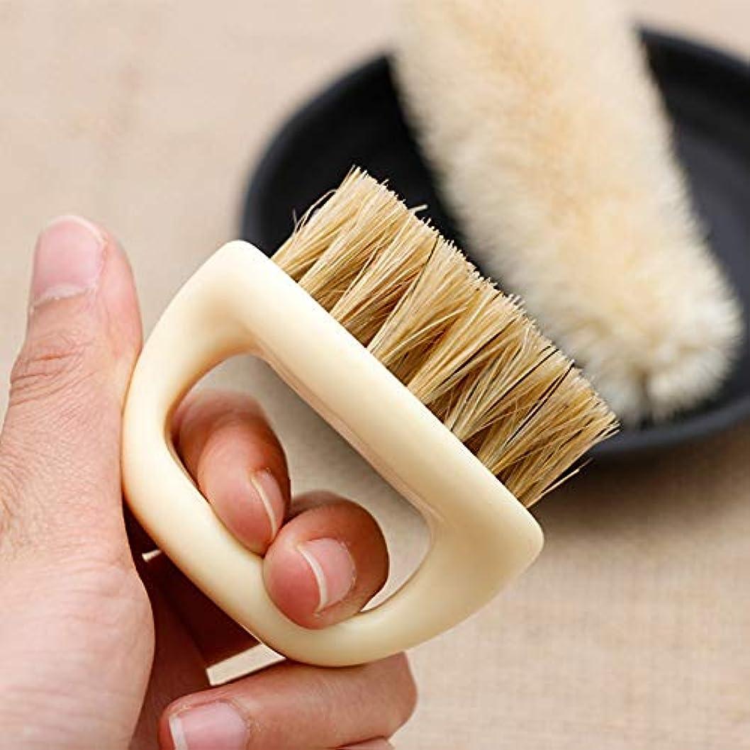 改善ジョリー広範囲にひげ櫛 回転 ひげ ブラシ 形状テンプレート 櫛 調整可能 スタイリング 角度 モデリング 理髪ツール 男性 メンズ 白 60×39×36cm(ボックスゲージ)
