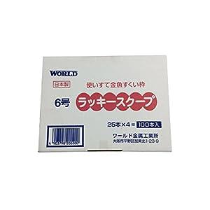 ラッキースクープ 6号(標準) 100本入り WRDNS20020