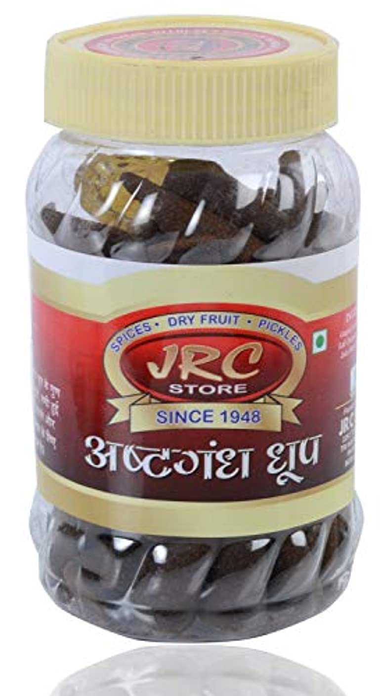 アトラス熱帯の意識JRC Aromatic Ashtgandh Dhoop Cones - Ashwagandha (Withania somnifera) dhup cone - ???????? ??? ???, 100 Gms