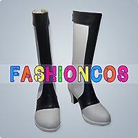 ★サイズ選択可★女性23CM UD239 クロスアンジュ 天使と竜の輪舞 アンジュ アンジュリーゼ・斑鳩・ミスルギ コスプレ靴 ブーツ