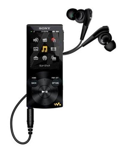 SONY ウォークマン Sシリーズ ノイズキャンセル搭載 [メモリータイプ] 16GB ブラック NW-S745/B