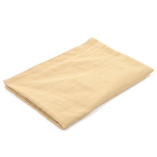 R-STYLE 寝室の枕や抱き枕に コットン100% カラフル ピローケース 150×50cm サイズ用 (カーキ)