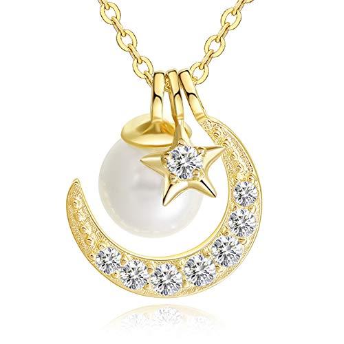 MUGOMスワロフスキー 7種着る方法 ネックレス レディース 真珠 ネックレス パール 純銀925 限定品 プレゼント 誕生日 女性