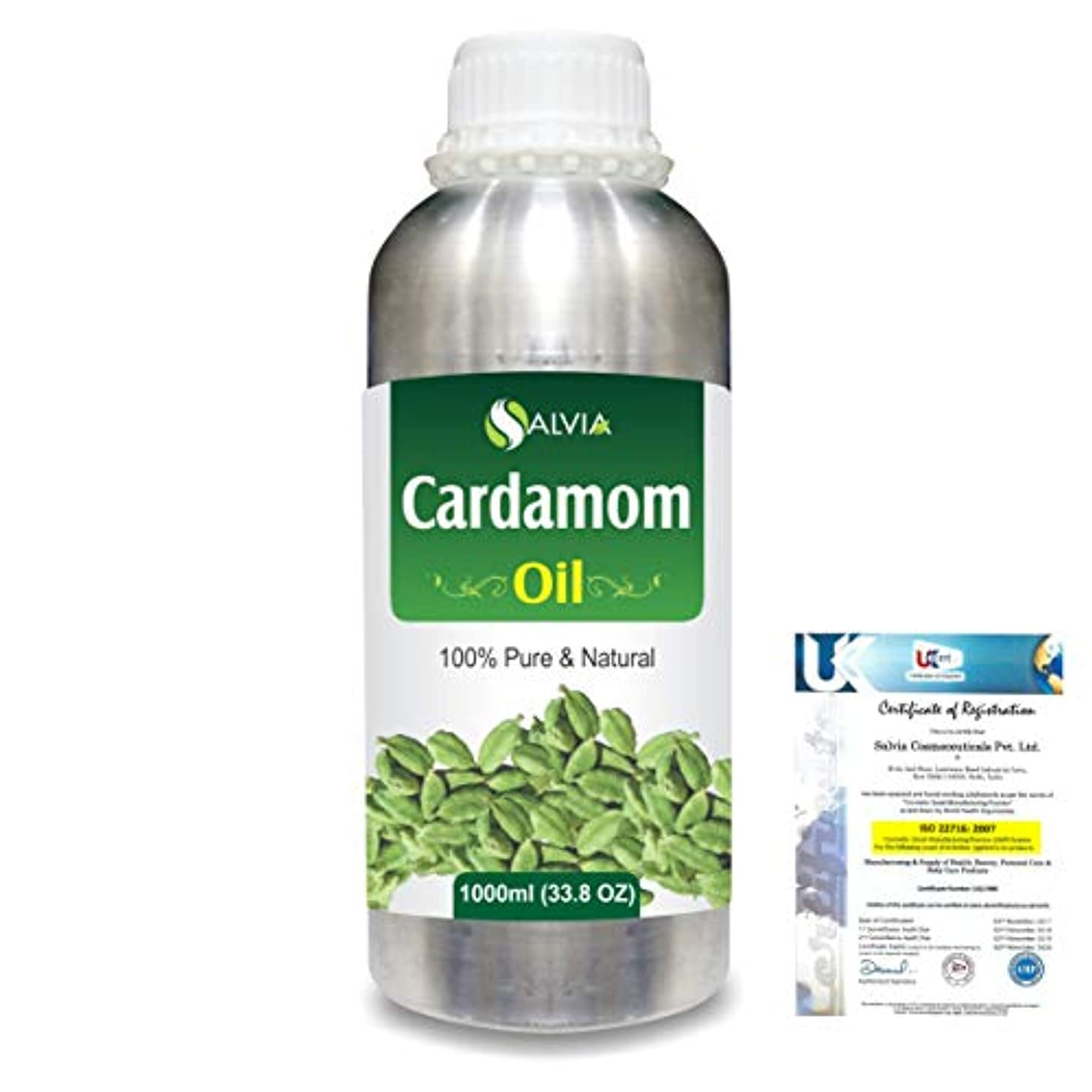見つけるページ超えるCardamom (Elettaria cardamomum) 100% Natural Pure Essential Oil 1000ml/33.8fl.oz.