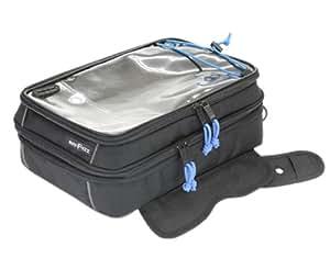 タナックス(TANAX) MOTOFIZZ タンクバッグ マグレス9000S /ブラック MFK-189[容量9-17ℓ]