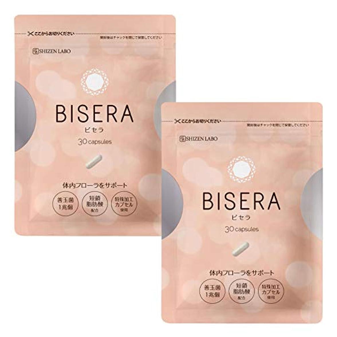 単なるバケット一方、ビセラ BISERA ダイエットサプリ (2袋セット)