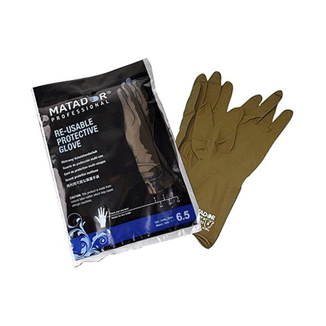 地上の投票どこかマタドールゴム手袋 6.5吋 【5個セット】