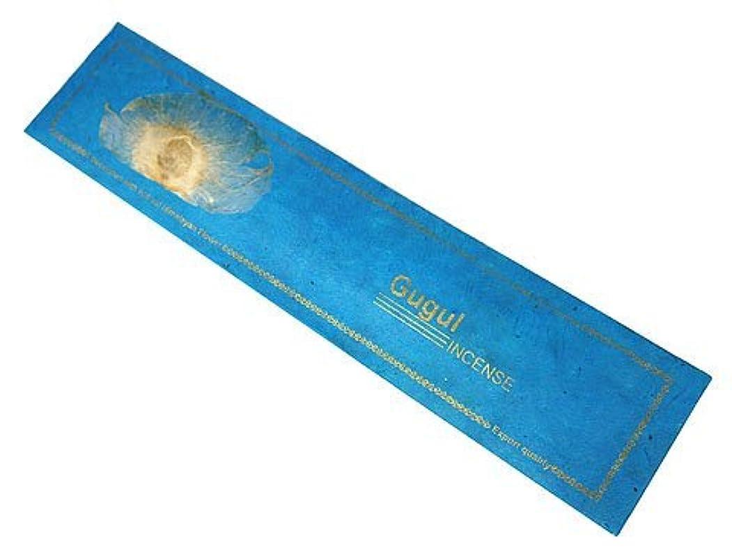 飢え含める墓地NEPAL INCENSE ネパールのロクタ紙にヒマラヤの押し花のお香【GUGULググル】 スティック