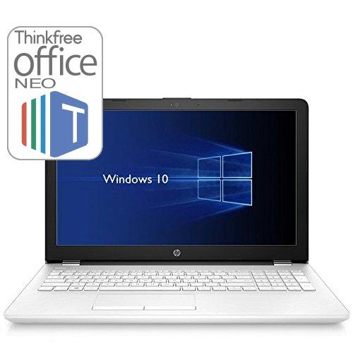 【フルHD液晶・Officeセット】HP 15-bs000 Windows10 Home 64bit Corei3 4GB 500GB DVDライター 高速無線LAN IEEE802.11ac/a/b/g/n Bluetooth4.2 HDMI USB3.1Genx1 webカメラ SDカードスロット 10キー付日本語キーボード 15.6型フルHD液晶ノートパソコン Thinkfree office NEO同梱