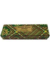 Chandan Champa Incense 100グラム – ボックス – Hand Rolledのインド