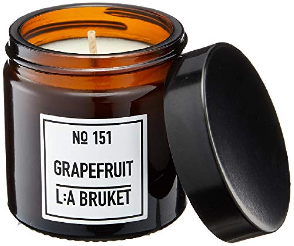 強調ビーム任命するL:a Bruket (ラ ブルケット) キャンドル (グレープフルーツ) 50g