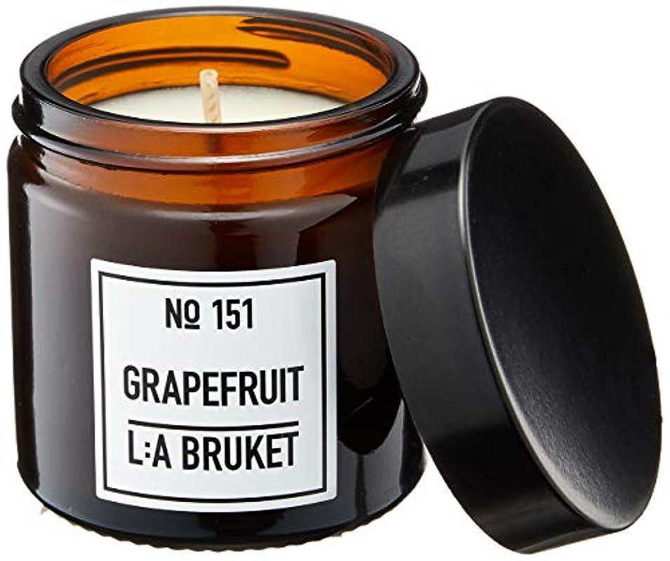 不完全なポゴスティックジャンプ農奴L:a Bruket (ラ ブルケット) キャンドル (グレープフルーツ) 50g