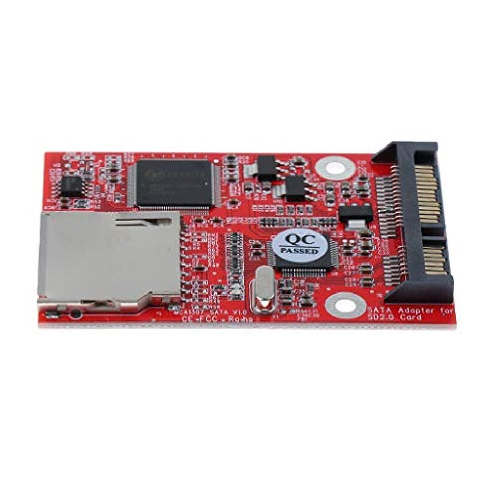 アーカイブ均等にポジションF Fityle SD SDHC MMC→SATAアダプタ コンバータ 変換カード
