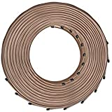 4LIFETIMELINES Copper-Nickel Brake Line Tubing, 10 Coils, 3/16 x 25