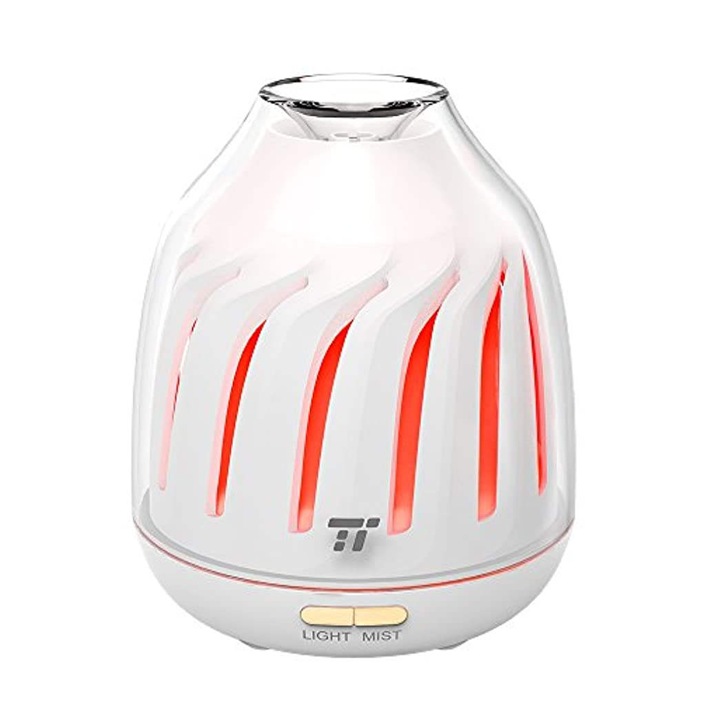 バルコニーレンダリング石化するTaoTronics tt-ad007h Essential Oil Diffuser