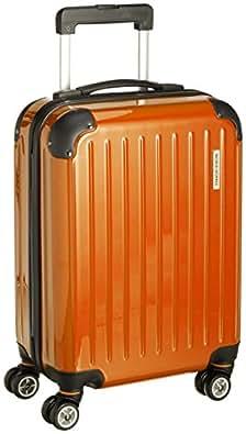 [ワールド ホッパー] WORLD HOPPER 【Amazon.co.jp限定】 スーツケース 47cm 26L 3.2kg 機内持込サイズ 双輪キャスター TSAロック搭載(オレンジ)