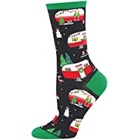 Socksmith Womens Christmas Campers