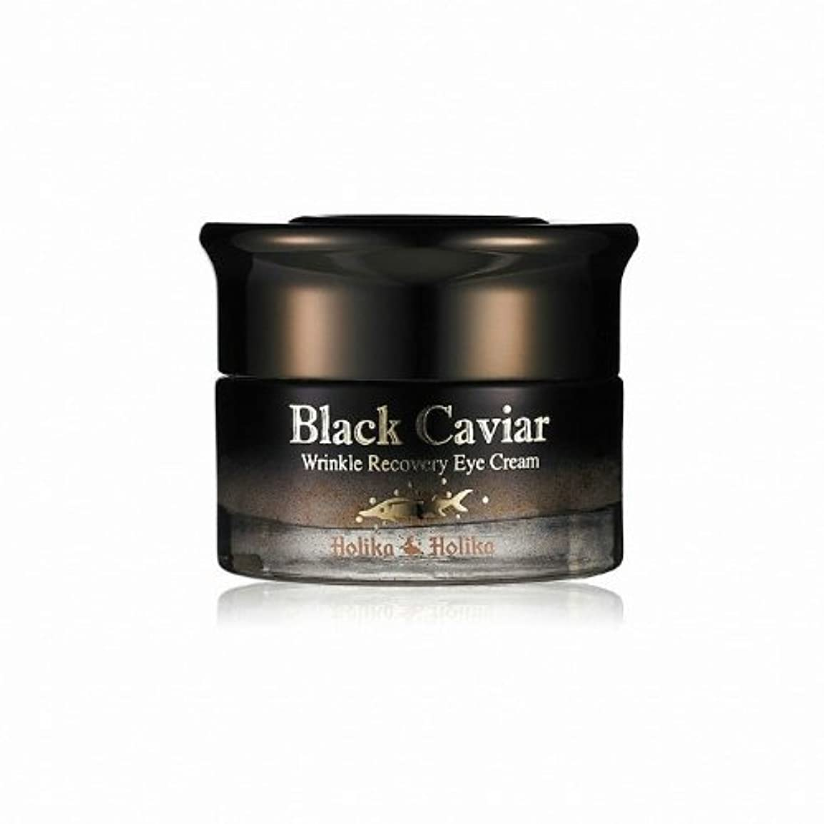 Holika Holika Black Caviar Anti Wrinkle Recovery Eye Cream [Korean Import]