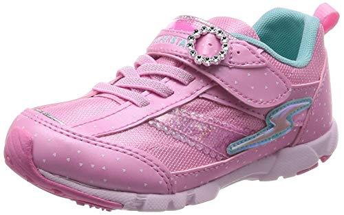 [スーパースター] 運動靴 通学履き 軽量 15cm~19cm 0.5cm対応 キッズ SS K896 ピンク 16.5 cm 2E