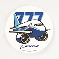 (ボーイング) BOEING 777ステッカー (PUDGY) 飛行機