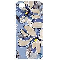 iPhoneSE iPhone5 iPhone5s バンパーハードケース フラワー 花柄 229 完全受注生産(マット仕上バンパー付)