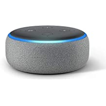All-new Echo Dot (3rd Gen) – Smart speaker with Alexa - Heather Grey Fabric