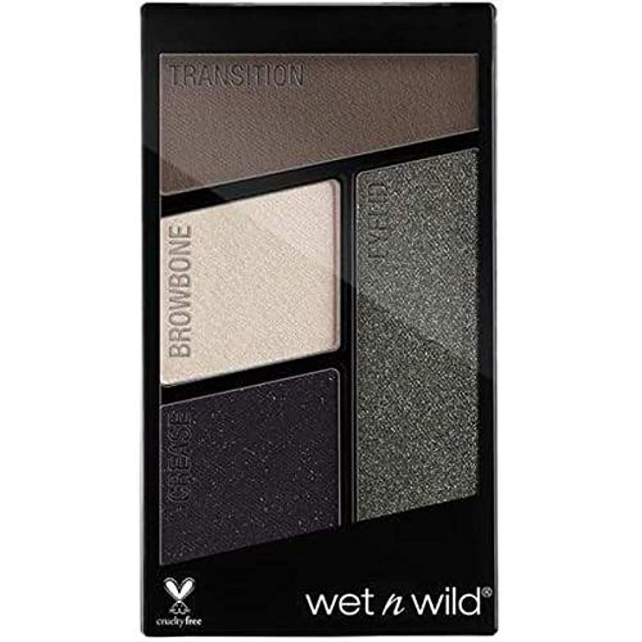 コンクリート先駆者ラックWET N WILD Color Icon Eyeshadow Quad - Lights Out (並行輸入品)