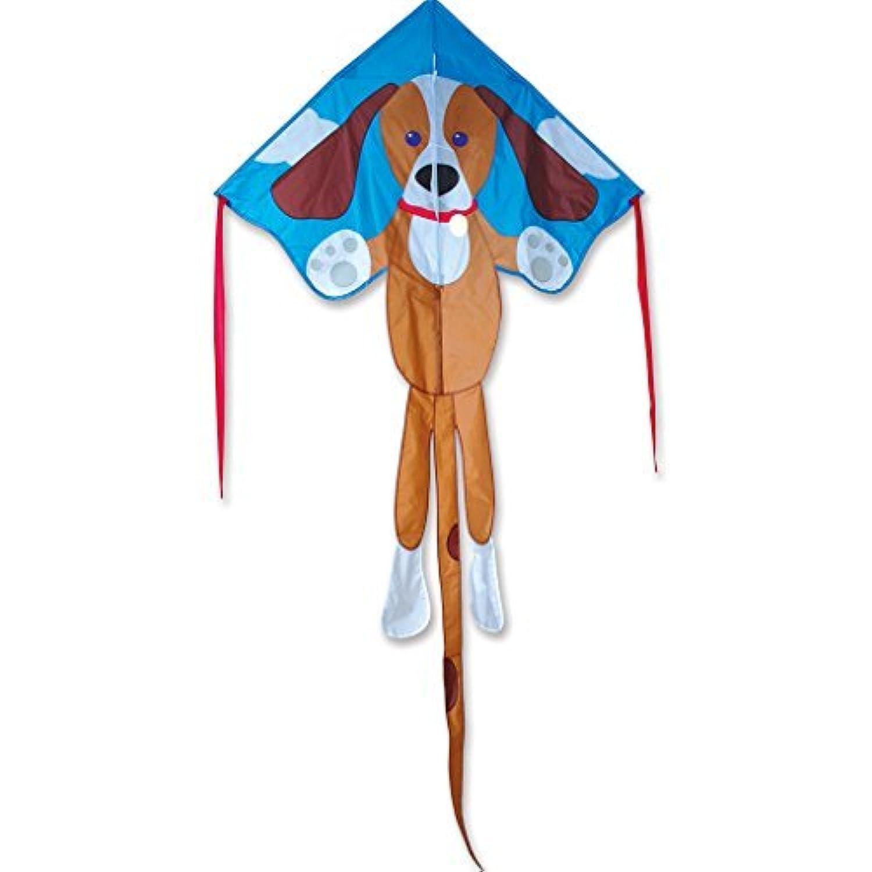Kite - Large Easy Flyer - Sparky Dog (46*91.5 inch / 117*231 cm) Test Kite String and Winder by Premier Kites & Designs [並行輸入品]