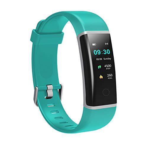 MoreFit SOLO スマートウォッチ 万歩計 腕時計型 歩数計 腕時計 スマートブレスレット 活動量計 スマートバンド ストップウォッチ 睡眠計 SMS/Facebook/Line 電話通知 目覚まし時計 日本語説明書 アプリ iOS9.0以上対応