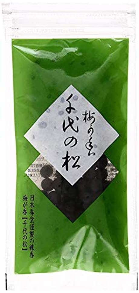 入手します前書きコンチネンタル日本香堂 練香 梅が香 千代の松 2袋セット